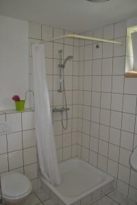 Das Badezimmer (Dusche)
